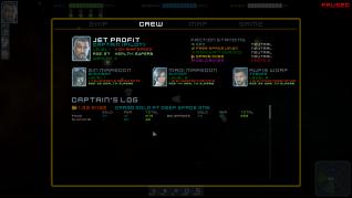 Crew stats and skills